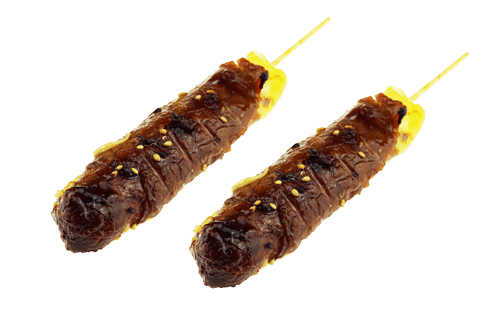 Brochette boeuf fromage