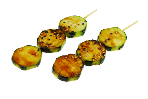 Brochette courgette