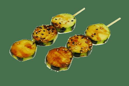 Brochette courgette