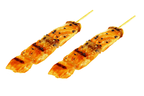 Brochette saumon