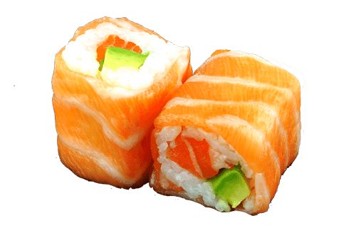 Délice roll saumon avocat