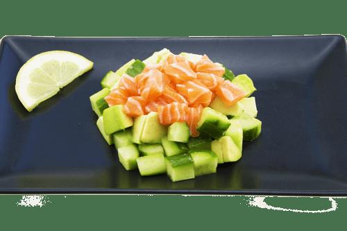 Salade saumon concombre