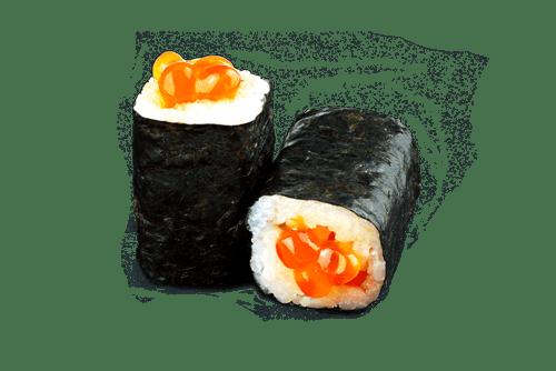 Maki oeuf de saumon
