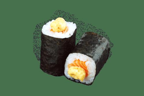 Maki saumon épice