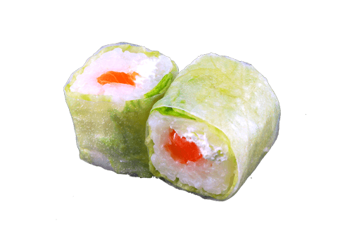 Printemps roll saumon fromage