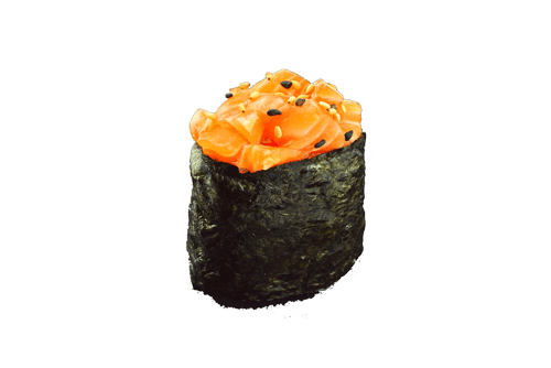 Sushi Tartare Saumon