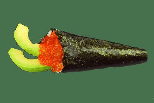 Themaki oeuf de saumon avocat