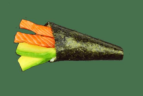 Themaki saumon avocat