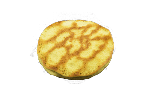 Pancake au thé vert